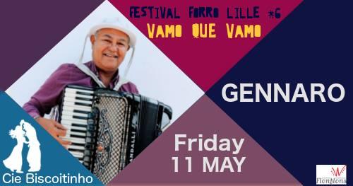 Bal forro vendredi: Gennaro + Douglas Marcolino + DJ Carlos André