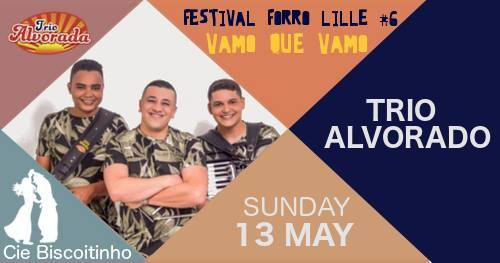 Bal forro dimanche: Trio Alvorada