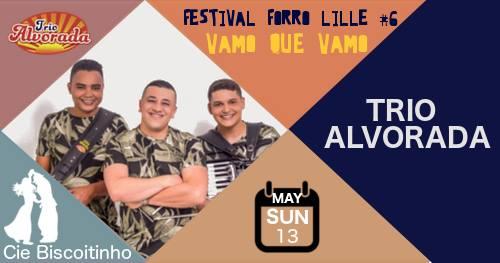 Bal forro dimanche: Trio Alvorada + DJ Jam