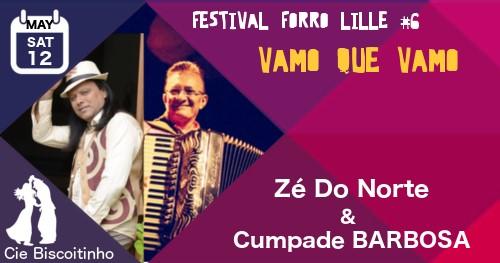 Bal forro samedi: Zé do Norte+ Cumpade Barbosa & Guest Gennaro